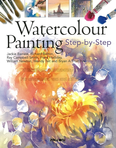WATERCOLOUR PAİNTİNG STEP-BY-STEP