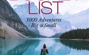 THE BUCKET LIST:1000 ADVENTURES BIG AND SMALL